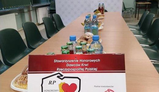 Kolejna akcja oddawania krwi w Zespole Szkół
